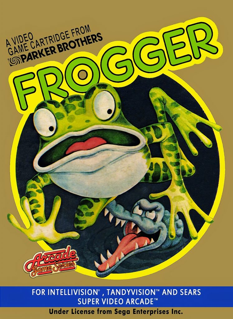 frogger box cover