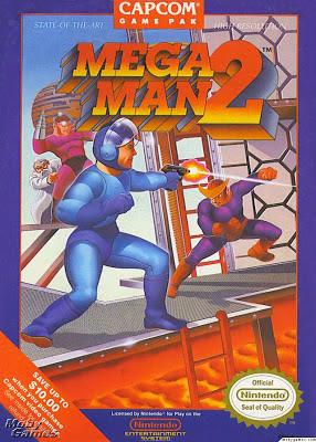 mega man 2 box cover