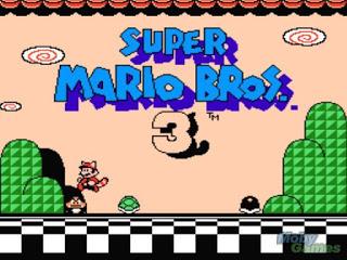 super mario 3 title screenshot