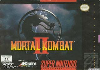 mortal kombat 2 snes box cover