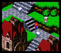super mario rpg screenshot snes town