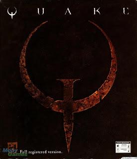 quake logo box cover