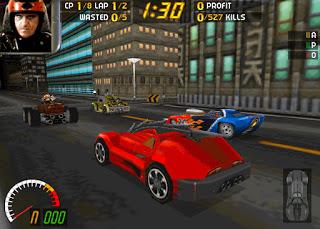 carmageddon screenshot driving race start