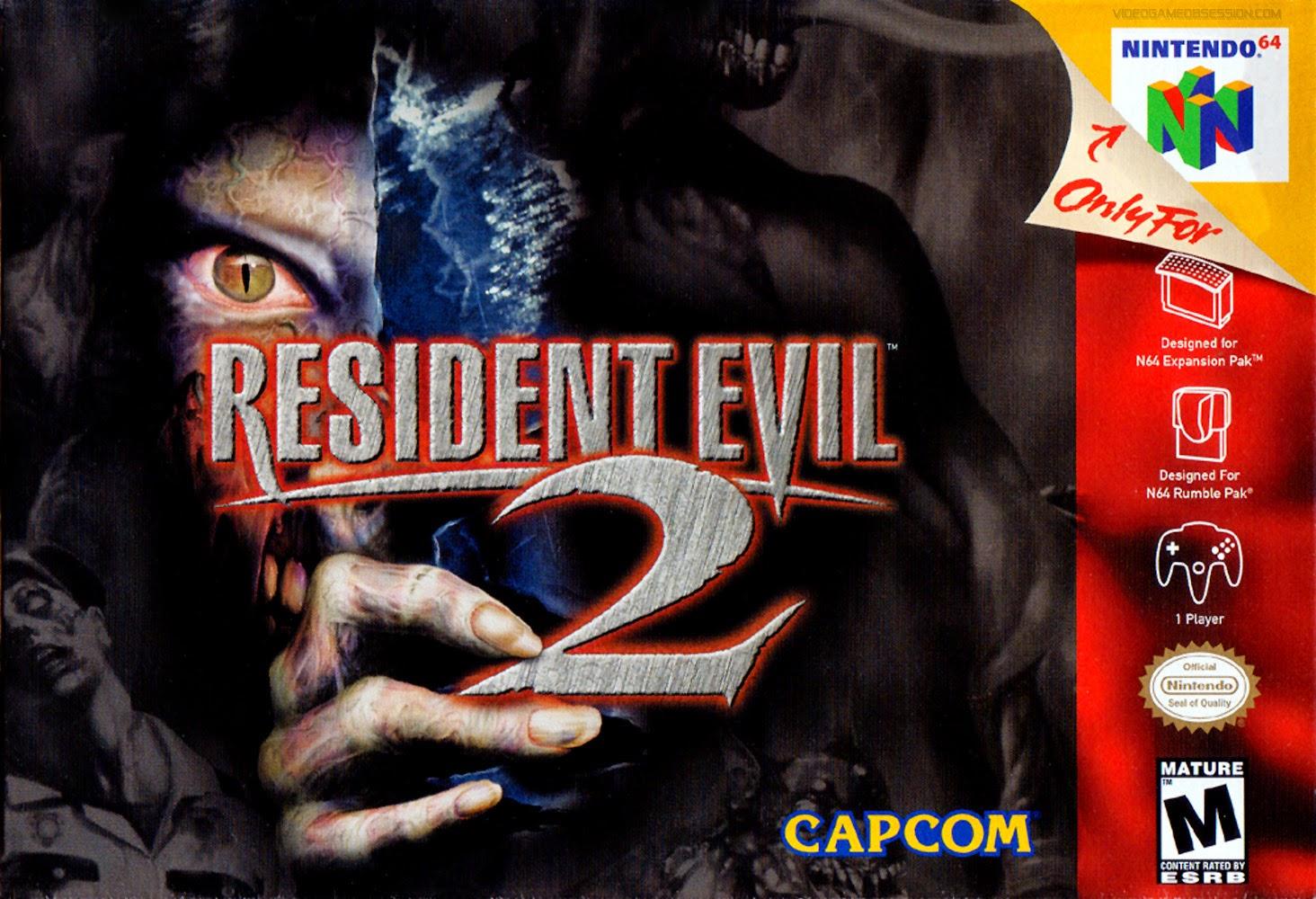 resident evil 2 box cover