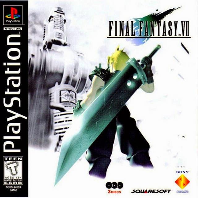 final fantasy 7 box cover