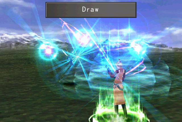 final fantasy 8 screenshot draw quistis