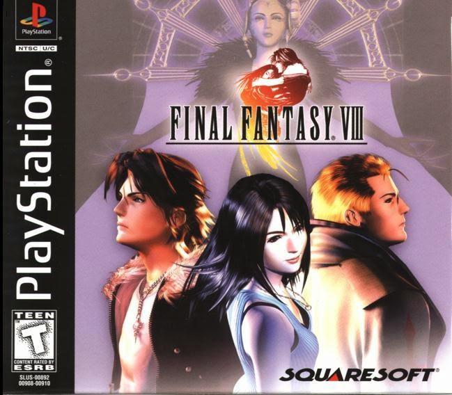 final fantasy 8 box cover