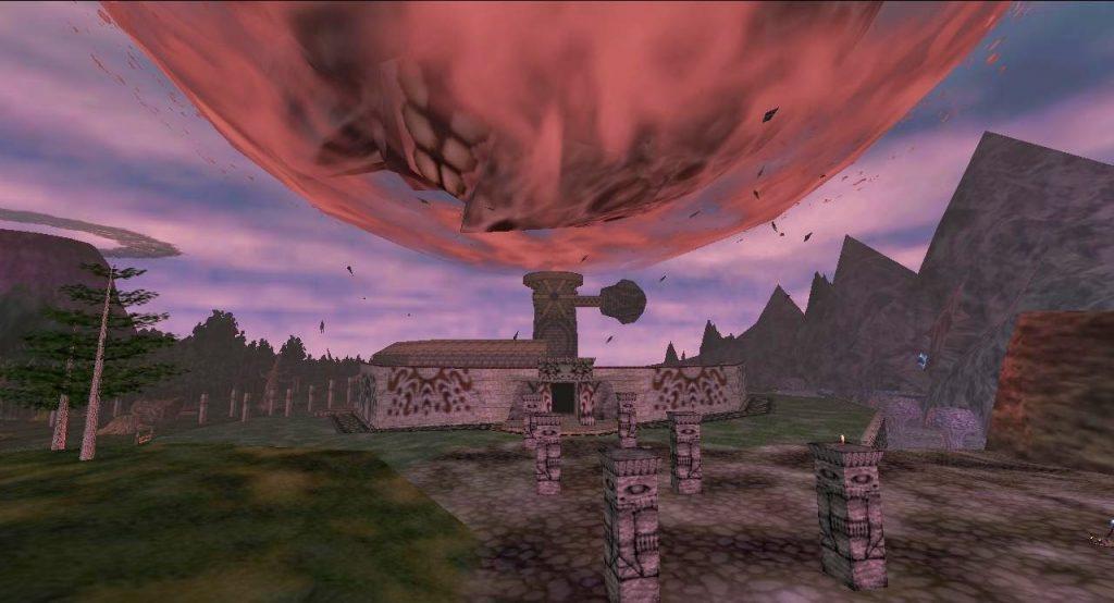 legend of zelda majora's mask screenshot moonfall termina