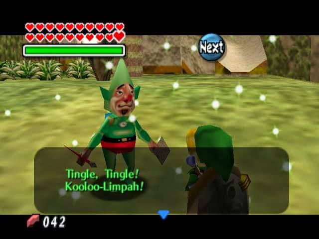 legend of zelda majora's mask screenshot tingle