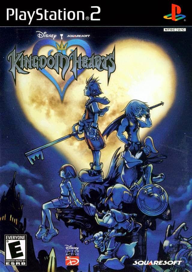 kingdom hearts box cover