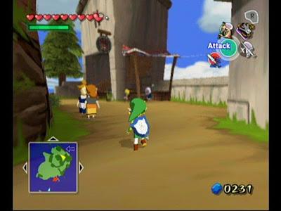 legend of zelda wind waker screenshot