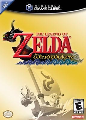legend of zelda wind waker box cover