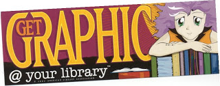 graphic novels library poster