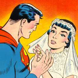 superman lois lane bride marriage