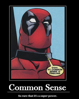 deadpool common sense