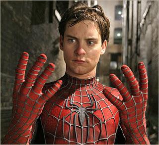spider-man tobey maguire hands