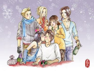 final fantasy 8 christmas fan art