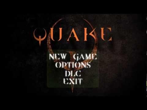 quake opening screen