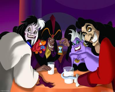 Analyzing the Disney Villains