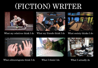 fiction writer what they think i do