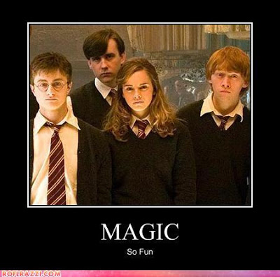 harry potter magic