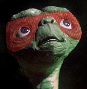 teenage alien ninja turtles