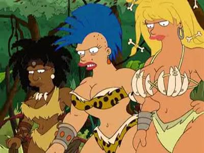 futurama amazonians