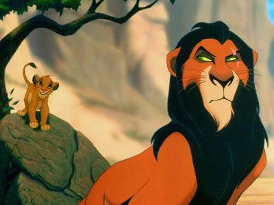 simba scar lion king hero complement comparison rock