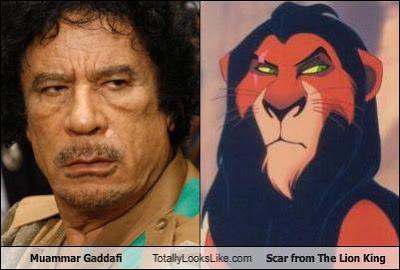 scar lion king evilness comparison