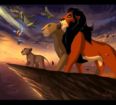 lion king scar pride rock disney