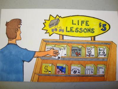bookshelf life lessons