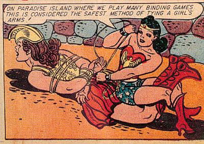 wonder woman bound up