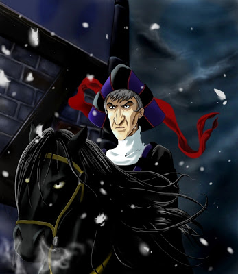 charstrengths claude frollo hunchback notre dame