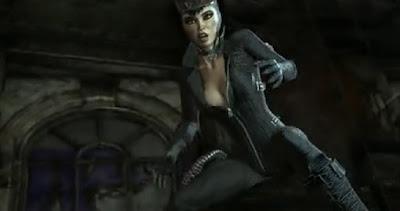 batmnan arkham city catwoman