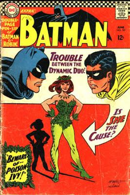 batman poison ivy comic