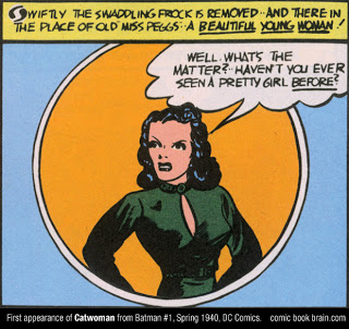 catwoman first appearance comic