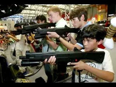 arcade Video Game Guns