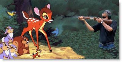 obama skeet shooting at bambi