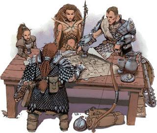 fantasy map table