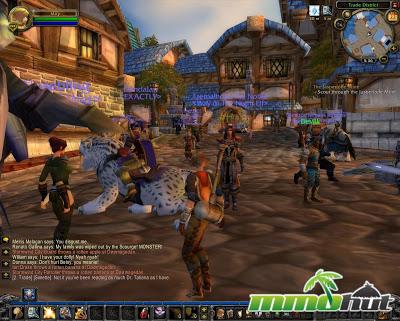 world of warcraft city center