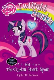 twilight sparkle my little pony book