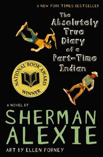 absolutely true diary part time indian sherman alexie