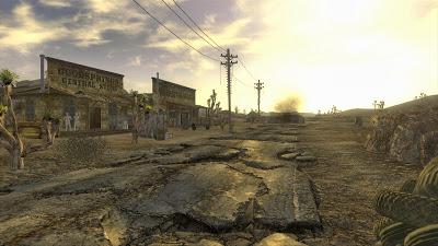 fallout new vegas screenshot road