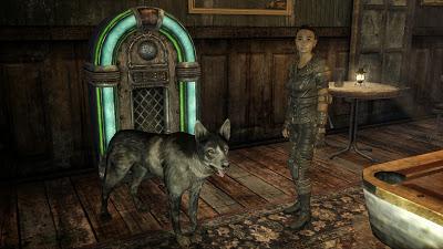 fallout new vegas screenshot jukebox dog