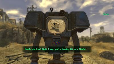 fallout new vegas screenshot robot