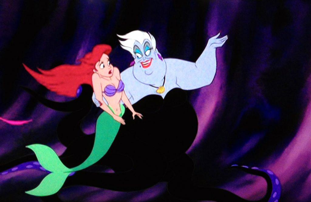 ursula complement little mermaid