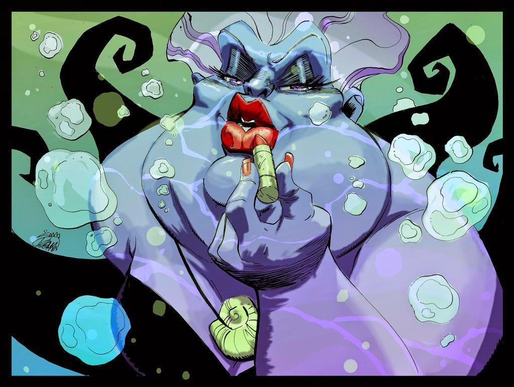 final ursula little mermaid
