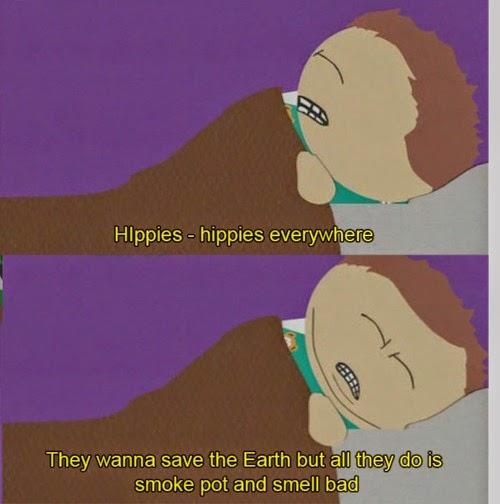 cartman south park hippies dream