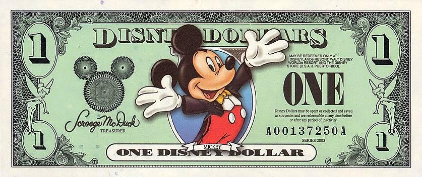 disney dollar mickey