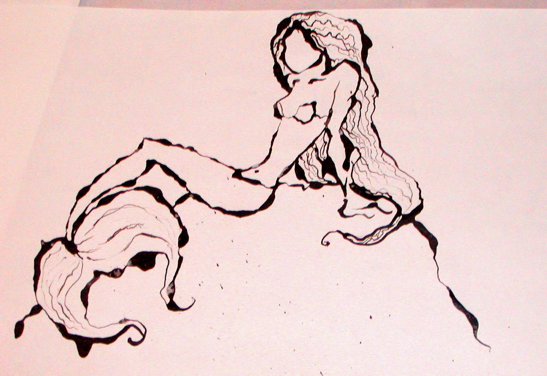 mermaid ribbon